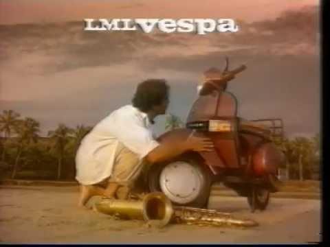 LML Vespa - Milind Soman