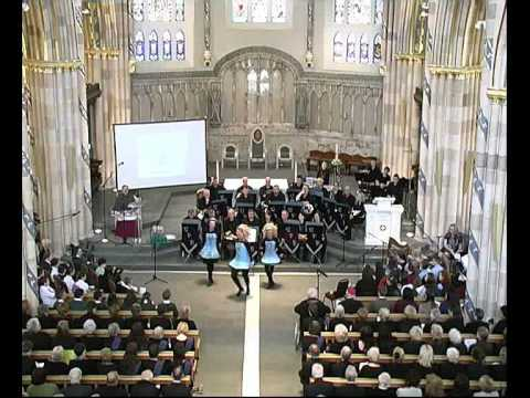 Irish Dancers At St Andrew S Cathedral Glasgow Youtube