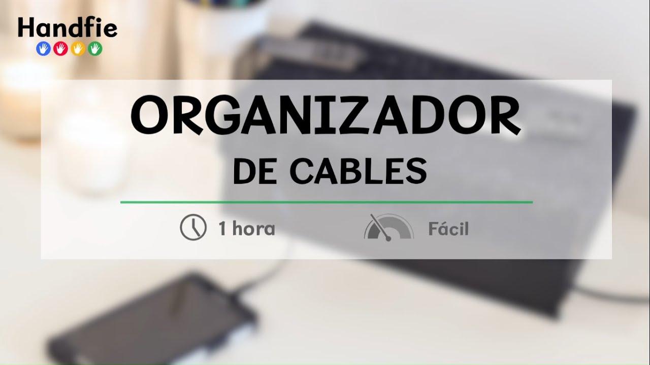C mo hacer un organizador de cables con una caja handfie diy youtube - Caja para ocultar cables ...
