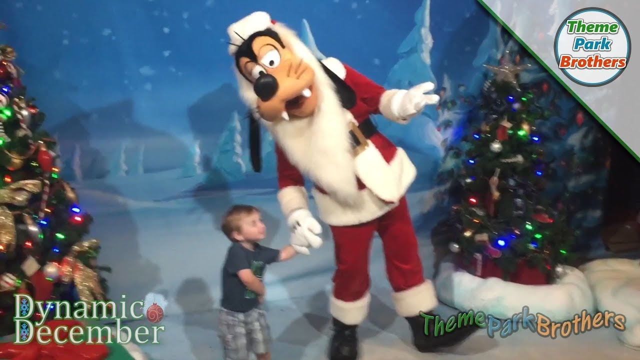 a8b9b5160c424 Santa Goofy at Disney s Hollywood Studios - YouTube
