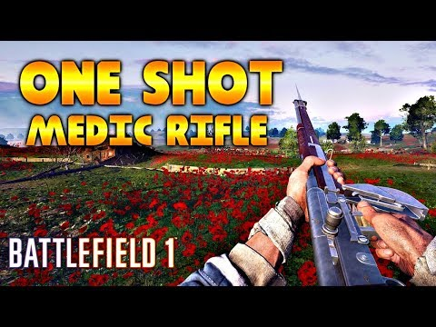 ONE SHOT MEDIC RSC CUSTOM SERVER - Battlefield 1 Highlights #88 PC (200% DAMAGE/HARDCORE)