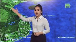Dự báo thời tiết 19/09/2019 | Gió Đông Bắc kèm mưa dông, lốc sét | VTC16