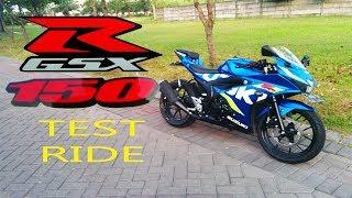 Ngerasain Enaknya  SUZUKI GSX-R 150 (Test Ride)