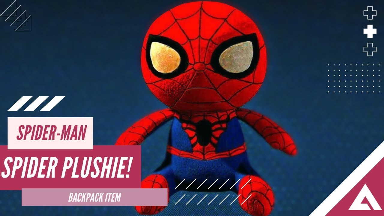 Spider Plushie Marvel S Spider Man Ps4 Youtube