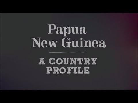 School Resources | Papua New Guinea profile