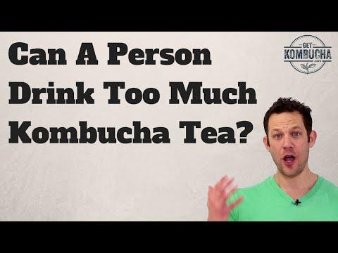 """Too Much Kombucha"": Is Drinking Too Much Kombucha Bad For You? by GetKombucha.com"