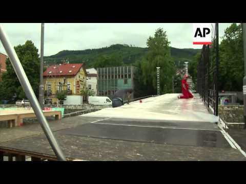 WW1 anniversary preps continue in city divided over Archduke assassination