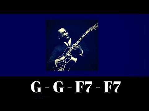 G Major Jazz Backing Track   Modal Interchange