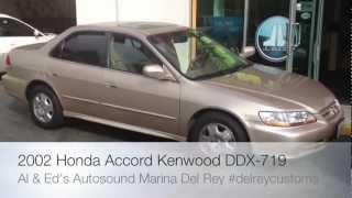 2012 Kenwood Electronics DDX-719 2-DIN Multimedia Raido Honda Accord