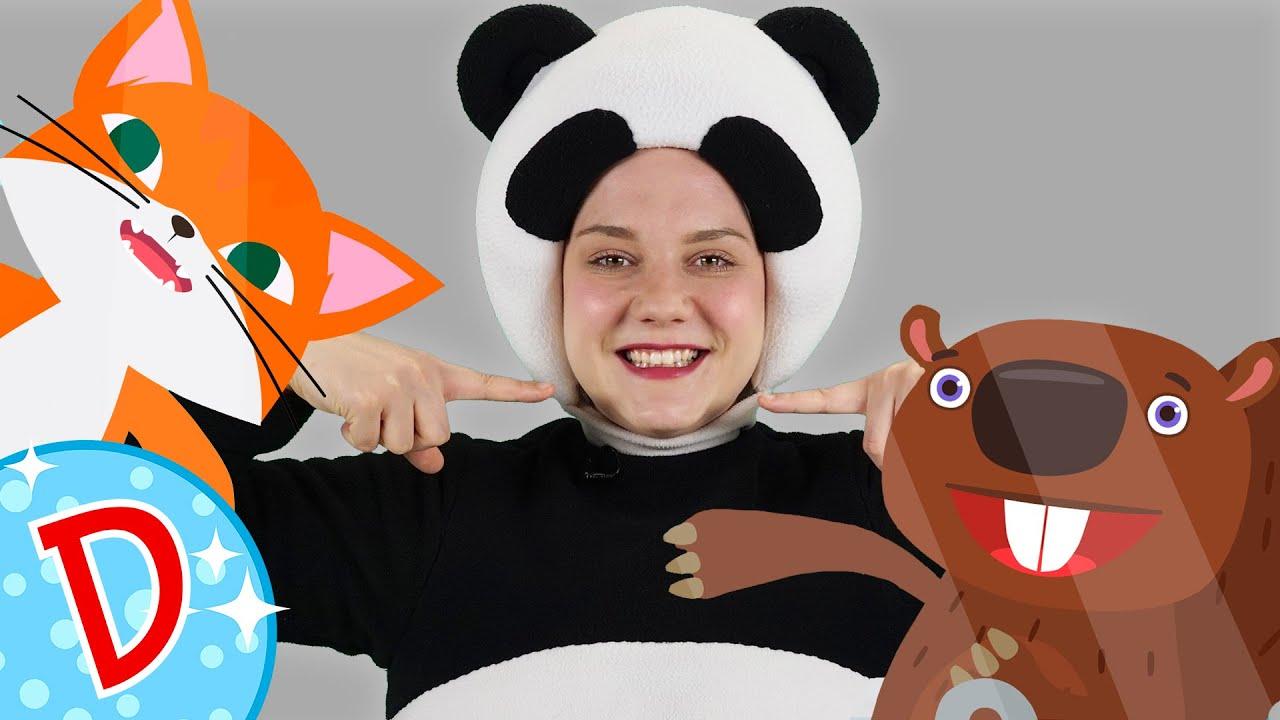 Диско - Танцуем с Мишкой - Песня ЗУБКИ - Brush your teeth song - Чистим зубы с малышами