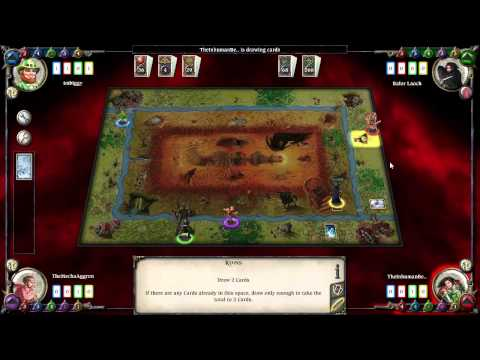 Let's Play Talisman: 4-1 Party of Four |