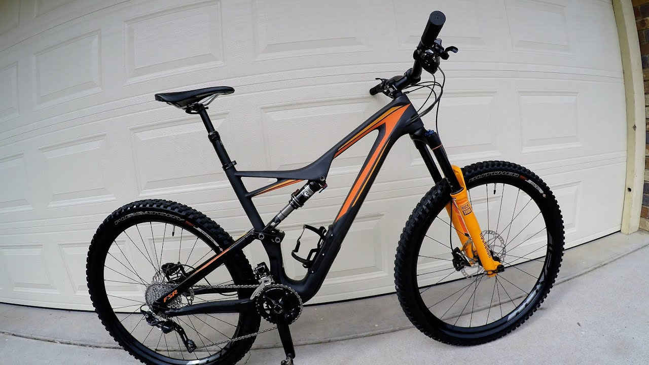2016 Specialized Stumpjumper FSR Comp Carbon 650B walk around - YouTube