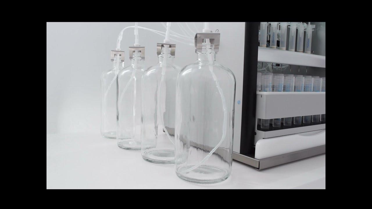 Automatic Bottle Rinsing using MOD-00P Configuration