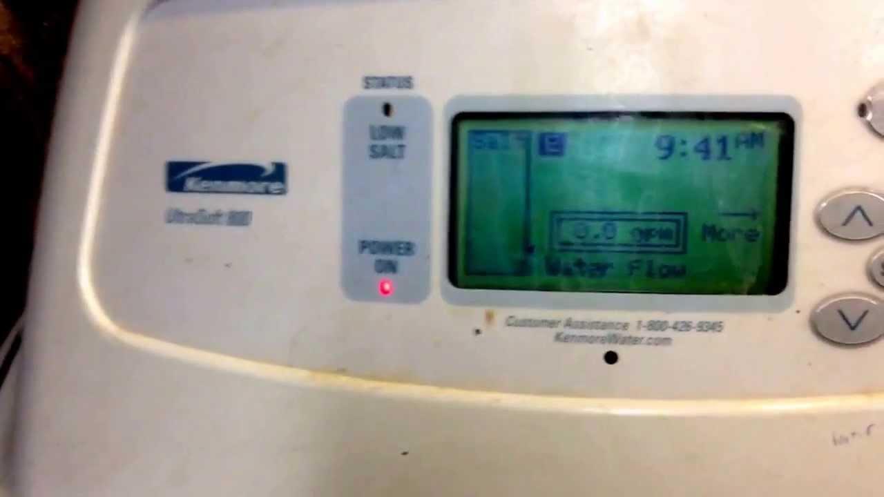 Kenmore Ultra Soft 800 Water Softener