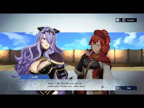 Fire Emblem Warriors - Camilla & Anna Support Conversation