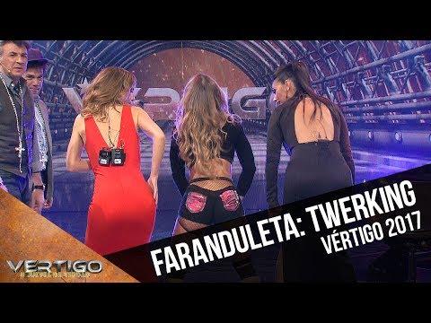 El desafío de la faranduleta: twerking | Vértigo 2017