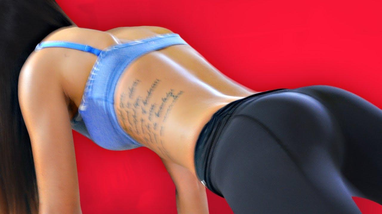 Women nude ass knee