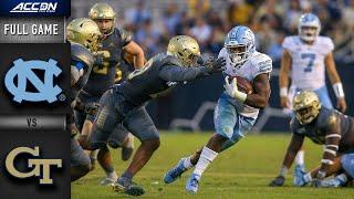 North Carolina vs. Georgia Tech Full Game   2019 ACC Football