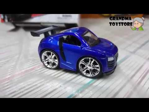 Unboxing TOYS Review/Demos - audi a8 mini sports car fast and furious