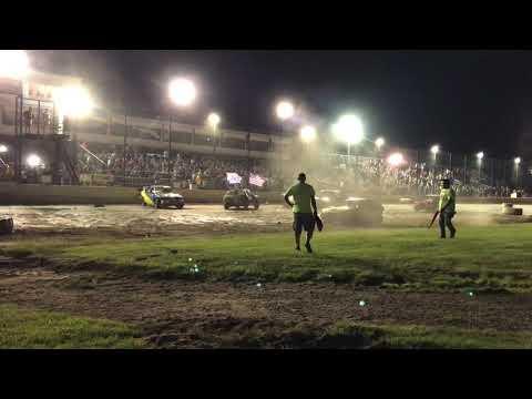 Brewerton Speedway Compact Demolition Derby