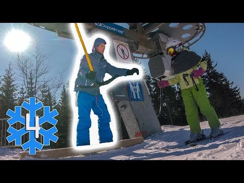 First day at work   DAY 4   My life in a Czech ski resort