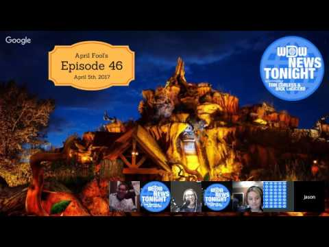 WDW News Tonight Episode 46 (4/5/2017) - The Map Game, Funny Disney World Attractions, ETC.