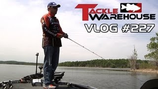 Mike McClelland Fishing the Spro McStick 115 at Table Rock Lake Part 1 - Tackle Warehouse VLOG #277