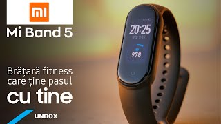 Fitness-tracker Xiaomi Mi Band 5, Black