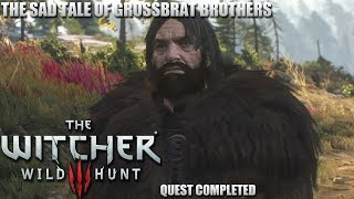 The Witcher 3: Wild Hunt - Let's Play - The Sad Tale Of The Grossbart Brothers