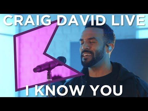 Craig David - I Know You (Live) | KISS Presents