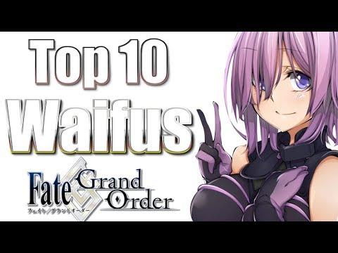 Top 10 Waifus: Fate/Grand Order