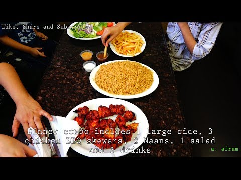 [4K] Afghani Food in Canada - Review of Al-Meezan Spicy Grill Etobicoke Ontario Canada