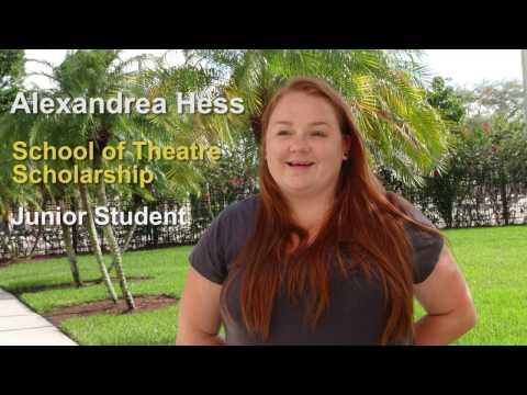 Alexandrea Hes - Scholarship recipient