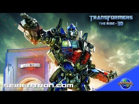 TRANSFORMERS The Ride 3D Optimus Prime Warning Universal Orlando Resort