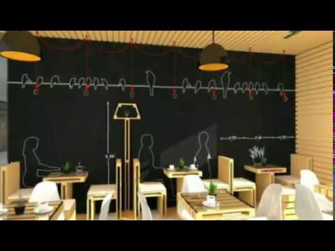 13 Gambar Desain cafe minimalis Modern  Paling Keren YouTube