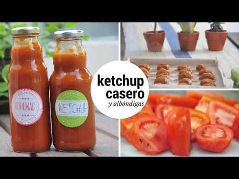 Cómo Preparar Ketchup Casero y Albóndigas de Carne