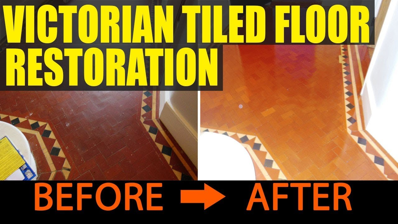 Victorian tiled floor restoration in lewisham youtube victorian tiled floor restoration in lewisham doublecrazyfo Gallery