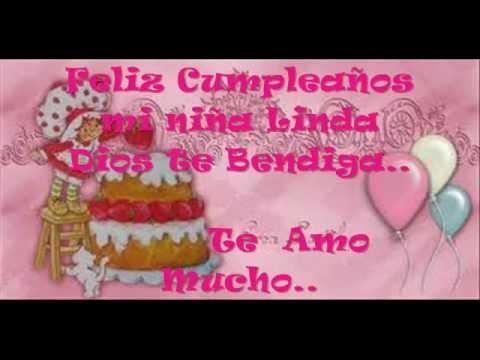 Feliz Cumpleanos mi Nieta Querida Feliz Cumpleaños mi Chiquita