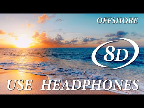 """Dance anthem on Ibiza song """"Offshore"""" by Chicane. 8D music."""