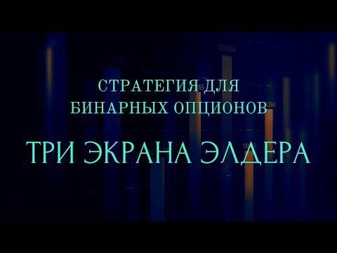 «ТРИ ЭКРАНА ЭЛДЕРА»  СТРАТЕГИЯ ДЛЯ БИНАРНЫХ ОПЦИОНОВ