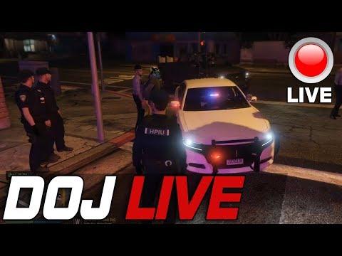 Dept. of Justice Cops Role Play Live - Taser Professional