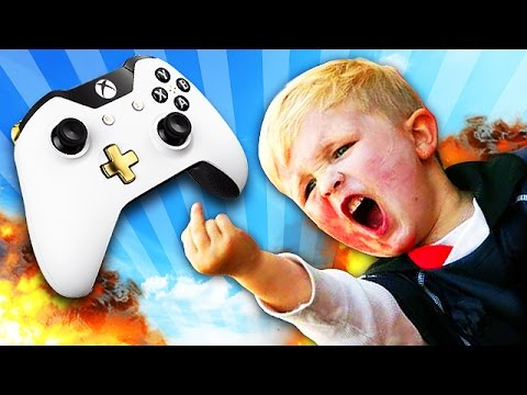 BUTTHURT NOOB THROWS A TANTRUM ON XBOX LIVE! (Call of Duty Trolling)