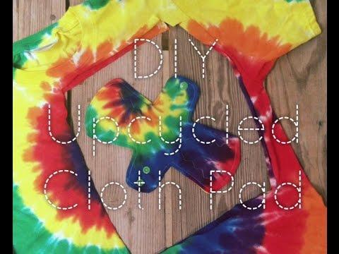DIY Cloth Pad - upcycle