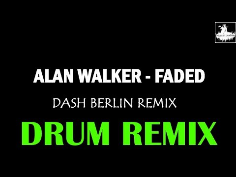 Alan Walker | Fade {Dash Berlin Remix} - Royston J Mathias {Drum Remix} #EDMDrumTape4