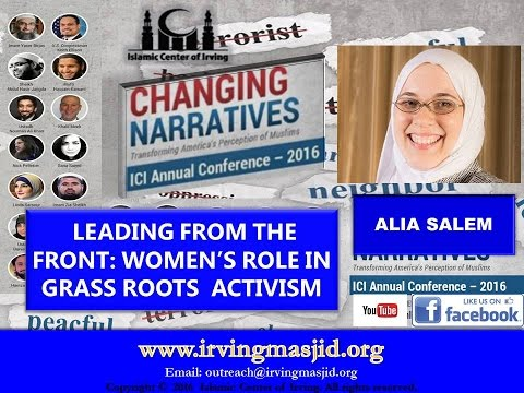 Changing Narratives - Leading from the Front - Alia Salem