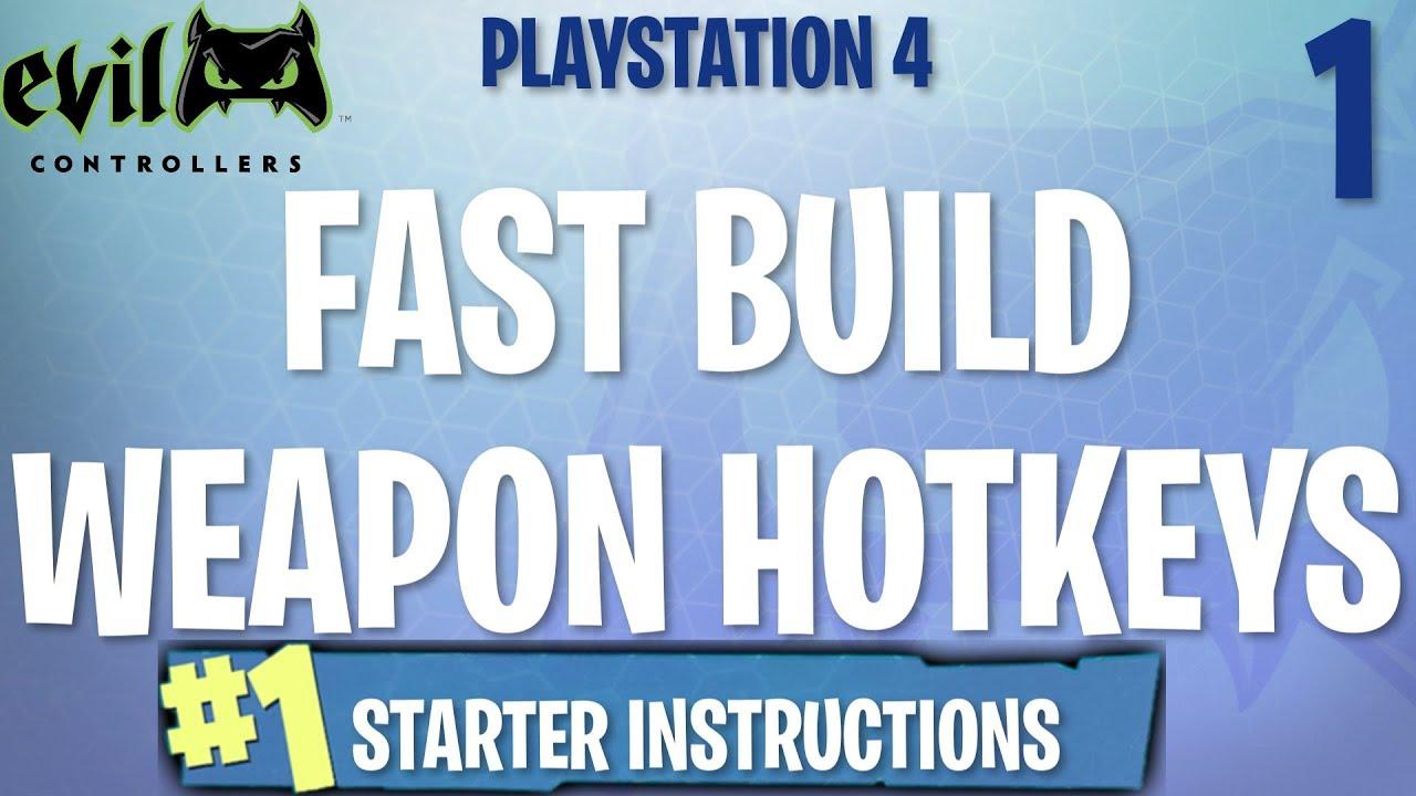 PS4 Starter Instructions - (FORTNITE MOD GUIDE #1)