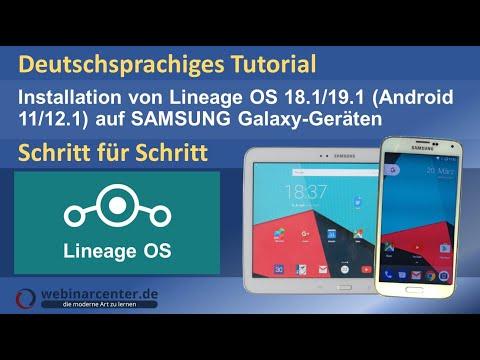 Tutorial: Lineage OS 14.1 (Android 7.1 Nougat) für Samsung Galaxy S3/S5 [Deutsch]