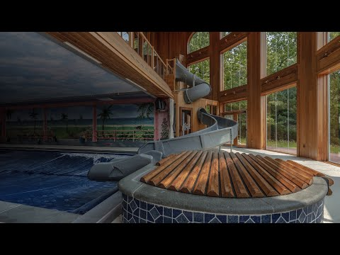 Kate Hudson's Multi Million Dollar Abandoned Mansion – Movie Theater And Indoor Water Park