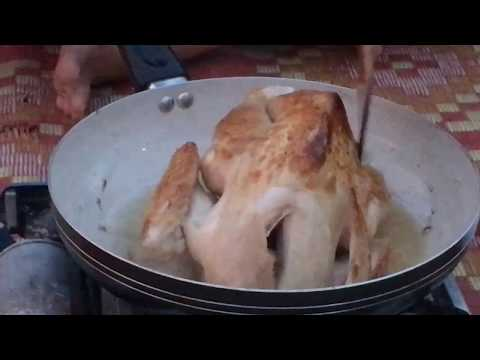 Village Food Factory   Babe Girl Cook Chicken with COCA COLA   How to Cook Chicken with COCA C #211