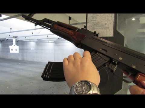 AK47(AKM) 7.62 x 39mm 소총 실탄 사격